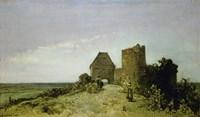 Ruins Of The Chateau De Rosemont, 1861 Fine-Art Print