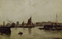 View Of A Port Fine-Art Print