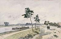 The Seine at Argenteuil,  c. 1867 Fine-Art Print