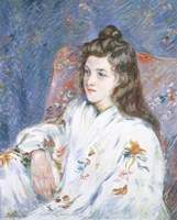 A Portrait Of the Artist's Daughter Fine-Art Print