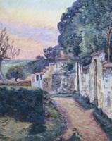 A Street In Epinay Fine-Art Print