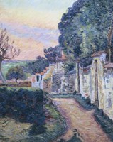A Street In Epinay Fine-Art Print