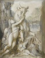 Pasiphae, Grisaille, 19th Century Fine-Art Print