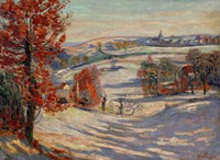 Snow In Ivry, 1895 Fine-Art Print