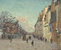 Quai De La Gare, 1880 Fine-Art Print