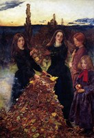 Autumn Leaves, 1856 Fine-Art Print