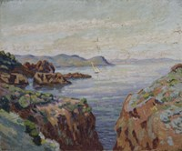 Towards Mal Infernet (Esterel) Fine-Art Print