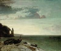 The Sea At Etretat, 1853 Fine-Art Print