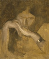 Woman With A Ring Fine-Art Print