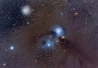 Corona Australis, a Constellation in the Southern Hemisphere Fine-Art Print