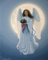 Moon Angel Fine-Art Print