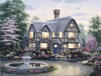 Freeman Cottage Fountain Fine-Art Print