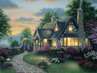 Austin Cottage Fine-Art Print
