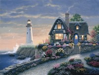 Lighthouse Overlook Fine-Art Print
