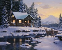 White Tail Twilight Fine-Art Print