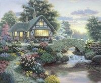 Serenity Cottage Fine-Art Print