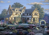 English Tudor Fine-Art Print