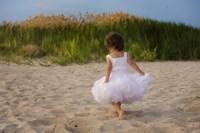 Little Girl In White Beach Dress Fine-Art Print
