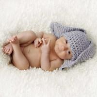 Baby Knit Bunny Ears Fine-Art Print