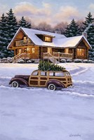 Log Cabin Fine-Art Print