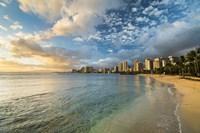 Waikiki Queens Sunset Fine-Art Print