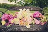 Flower Bench Fine-Art Print