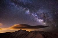 Milky Way Over The Rockies Fine-Art Print