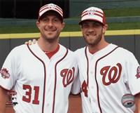 Max Scherzer & Bryce Harper 2015 MLB All-Star Game Fine-Art Print