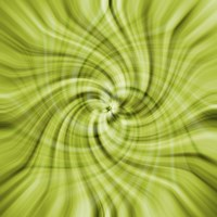 Lime Swirls Fine-Art Print