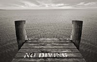 No Diving Fine-Art Print