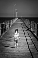 Lonely Jetty Fine-Art Print