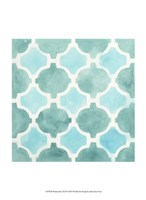 Watercolor Tile II Fine-Art Print