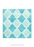 Watercolor Tile VI Fine-Art Print