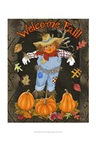 Fall Scarecrow I Fine-Art Print