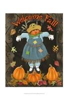 Fall Scarecrow II Fine-Art Print