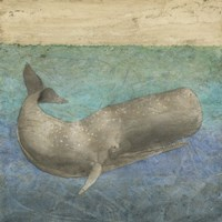 Diving Whale II Fine-Art Print