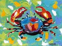 Seaside Crab I Fine-Art Print
