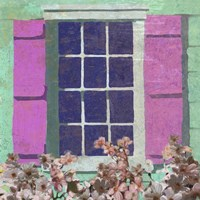 Window Floral II Fine-Art Print
