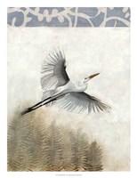 Waterbirds in Mist I Fine-Art Print