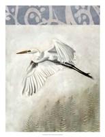 Waterbirds in Mist II Fine-Art Print