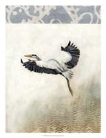 Waterbirds in Mist IV Fine-Art Print