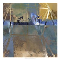 Oil Rig Abstraction I Fine-Art Print