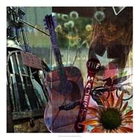 Guitar Collage Fine-Art Print