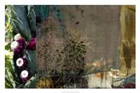 Texas Cactus Collage Fine-Art Print
