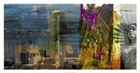 Fort Worth Collage II Fine-Art Print