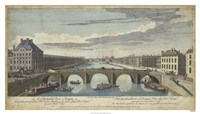 Le Pont Royal, Paris Fine-Art Print