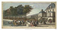 View of Fontainebleau II Fine-Art Print