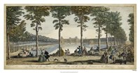 View of Fontainebleau III Fine-Art Print