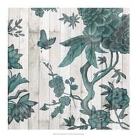 Terra Verde Chinoiserie I Fine-Art Print