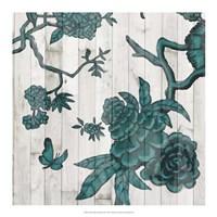 Terra Verde Chinoiserie III Fine-Art Print